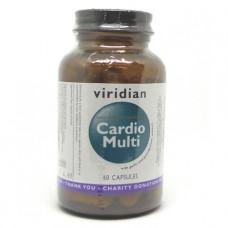 Viridian Cardio monivitamiini 60kps