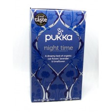 Pukka Night Time tee 20pss