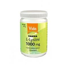Vida Vahva L-Lysiini 1000mg 100tbl