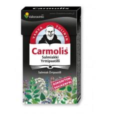Carmolis salmiakki yrttipastilli 45g
