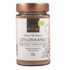 Kanelijauhe Ceylon luomu 80g F