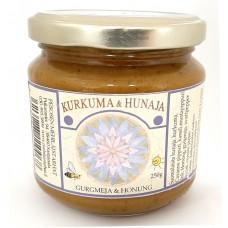 Hunaja ja Kurkuma Pesosen Mehiläistarhat 250g