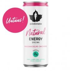 Natural Enegy Drink 330ml Passionhedelmä-Inkivääri Puhdistamo