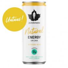 Natural Enegy Drink 330ml Sitruuna-Acai Puhdistamo