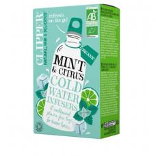 Clipper Minttu-Sitrus kylmä juomahauduke 10pss