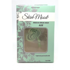 SkinMood Aloe Konjac Mask-Kuivan ja herkänihon naamio