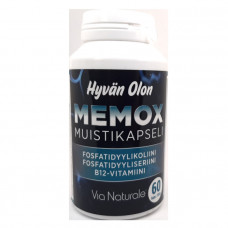 Memox Muistikapseli 60kps