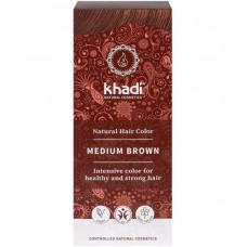 Kasvihiusväri Medium Brown 100g Khadi
