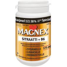 Magnex Sitraatti+B6 vitamiin 150tbl