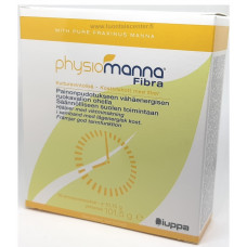 Physiomanna Fibra 10annospss (Glukomannaani ja physiomanna)