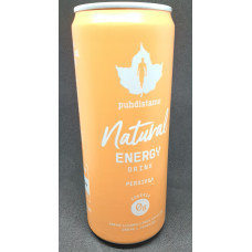 Energy Drink Natural Persikka 330 ml Puhdistamo