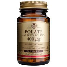 Folaatti (Metafolin) 400mcg 50tbl