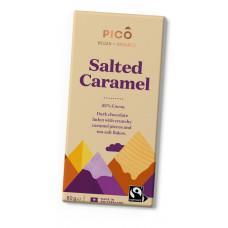 Tummasuklaa Salted Caramel, vegaaninen 80g