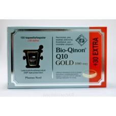 2 kpl Bio-Qinon Q10 gold 100mg  (180 kaps)