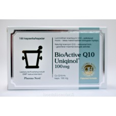 BioActive Q10 Uniqinol 100 mg 150 kaps