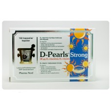 D-Pearls Strong 38 mcg 160kps