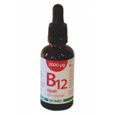 B12 tipat 2000mcg 50ml Biomed