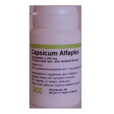 Capsicum Alfaplex 140tbl