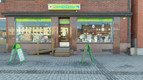 LuontaisCenter store front